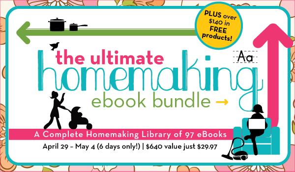 Ultimate Homemaking eBook Bundle