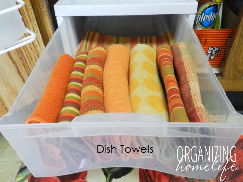 Organize Your Kitchen Frugally