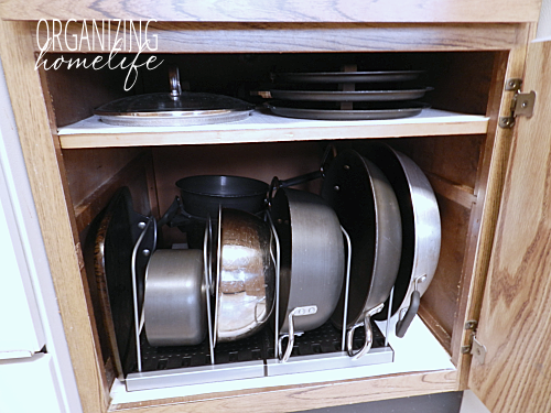 kitchen storage ideas for pots and pans diy knock organization for pots amp pans how to 27879