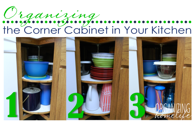 Organizing A Corner Kitchen Cabinet Organize Your Kitchen Frugally Day 16 Organizing Homelife