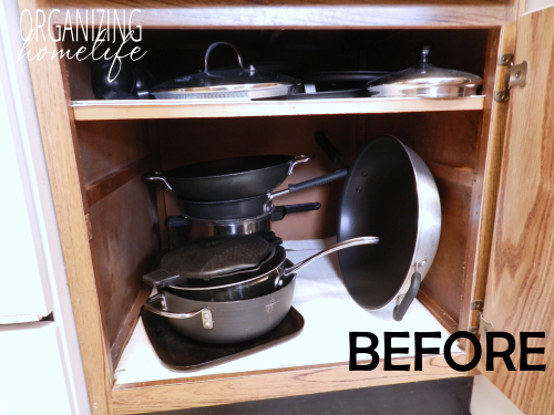 kitchen storage solutions for pots and pans diy knock organization for pots amp pans how to 9837