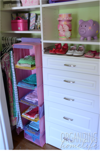Organizing Kids Clothes In The Closet