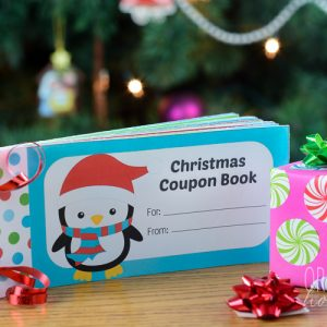 Free Printable Christmas Coupon Book for Kids