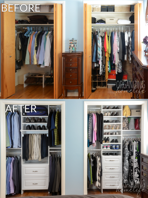 how to organize your small bedroom closet 1 000 easyclosets organized closet giveaway organizing 21102