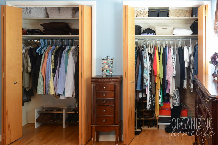 organizing master bedroom closet master bedroom closet disorganization and the solution 16577