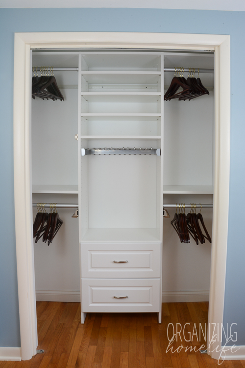organizing master bedroom closet master bedroom closet organization the reveal amp 16577