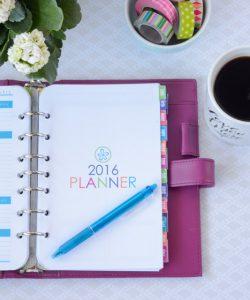 Planner 2016 Calendar Cover Vertical MB
