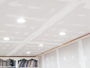 Basement Renovation - LED Light Installation
