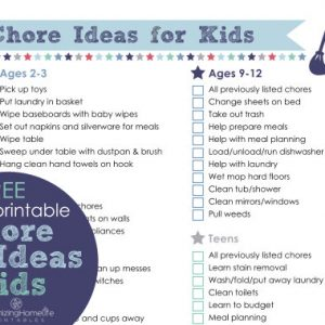 Chores for Kids Made Easier and a Libman Giveaway