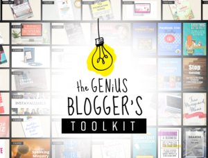 The Genius Bloggers Toolkit